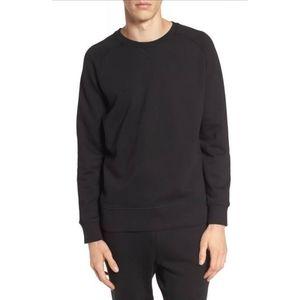 Richer Poorer Black Fleece Lined Pullover